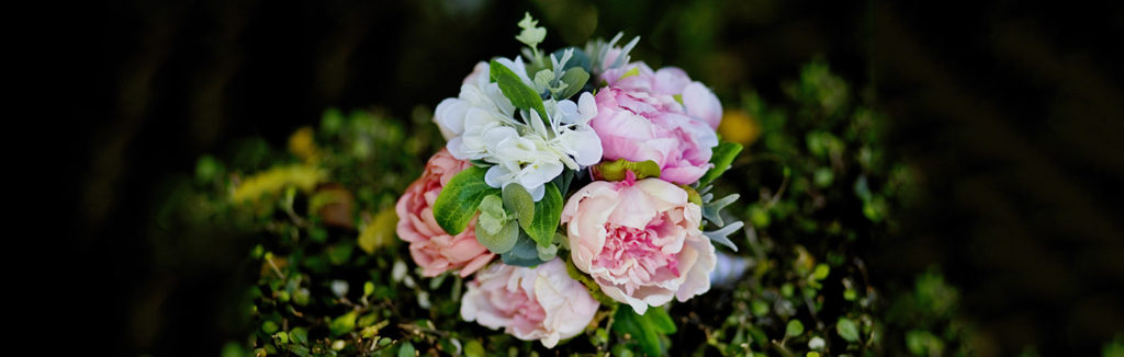 Wedding Flower Banner